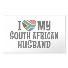 South African Husband Decal