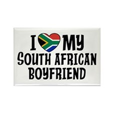 South African Boyfriend Rectangle Magnet
