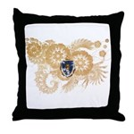 Massachusetts Flag Throw Pillow