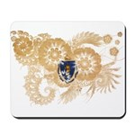 Massachusetts Flag Mousepad