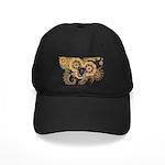 Massachusetts Flag Black Cap