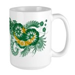 Mauritania Flag Large Mug