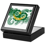 Mauritania Flag Keepsake Box