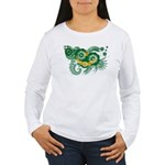 Mauritania Flag Women's Long Sleeve T-Shirt