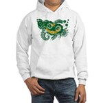 Mauritania Flag Hooded Sweatshirt