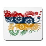Mauritius Flag Mousepad