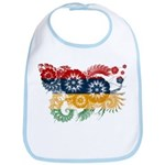 Mauritius Flag Bib