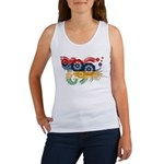 Mauritius Flag Women's Tank Top