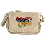 Mauritius Flag Messenger Bag