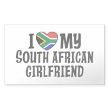 South African Girlfriend Decal