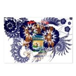 Michigan Flag Postcards (Package of 8)