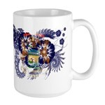 Michigan Flag Large Mug
