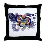 Michigan Flag Throw Pillow