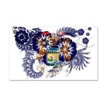 Michigan Flag Car Magnet 20 x 12