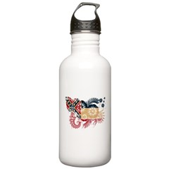 Mississippi Flag Water Bottle