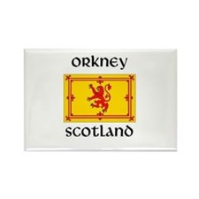 Golf scotland Rectangle Magnet