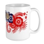 Myanmar Flag Large Mug