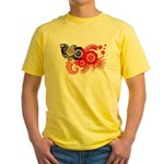 Myanmar Flag Yellow T-Shirt