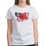 Myanmar Flag Women's T-Shirt