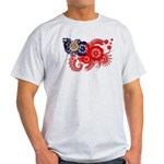 Myanmar Flag Light T-Shirt