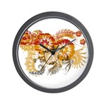 New Brunswick Flag Wall Clock