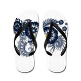 New York Flag Flip Flops