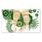 Norfolk Island Flag Sticker (Rectangle 50 pk)