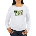 Norfolk Island Flag Women's Long Sleeve T-Shirt
