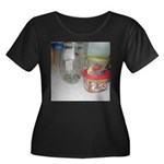 Cockatiel Women's Plus Size Scoop Neck Dark T-Shir