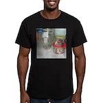 Cockatiel Men's Fitted T-Shirt (dark)
