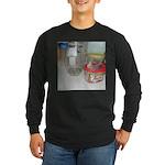 Cockatiel Long Sleeve Dark T-Shirt