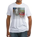 Cockatiel Fitted T-Shirt