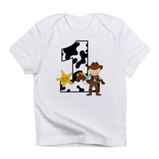Cowboy 1st Birthday Infant T-Shirt