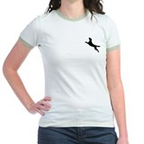 Black Dock Jumping Dog T
