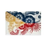 Philippines Flag Rectangle Magnet (100 pack)