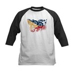 Philippines Flag Kids Baseball Jersey