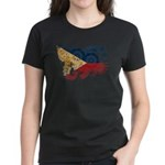 Philippines Flag Women's Dark T-Shirt