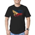 Philippines Flag Men's Fitted T-Shirt (dark)