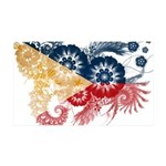 Philippines Flag 38.5 x 24.5 Wall Peel