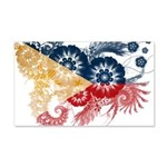Philippines Flag 22x14 Wall Peel