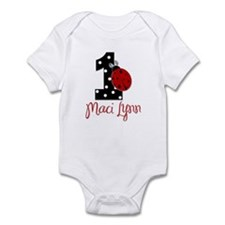 Maci Lynn 1st Birthday CUSTOM - Infant Bodysuit