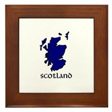 Golf scotland Framed Tile