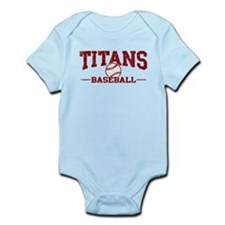 Titans Baseball Infant Bodysuit