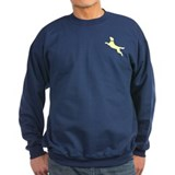Yellow Dock Jumping Dog Sweatshirt