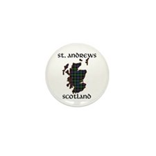 Golf scotland Mini Button (10 pack)