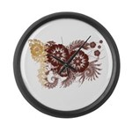 Qatar Flag Large Wall Clock
