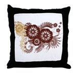Qatar Flag Throw Pillow