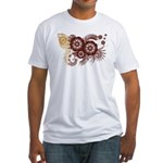 Qatar Flag Fitted T-Shirt