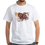 Qatar Flag White T-Shirt