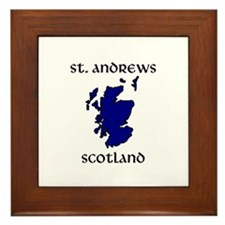 Cute St andrew Framed Tile